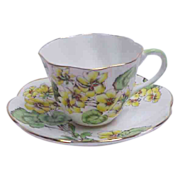 Salisbury English Bone China Cup & Saucer