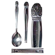 Holmes & Edwards Danish Princess Pattern Sugar Spoon