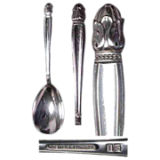 Holmes & Edwards Danish Princess Pattern Berry / Salad Serving Spoon