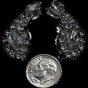 Fancy & Bright Rhinestone Clip On Earrings