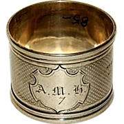 COIN Silver Napkin Ring
