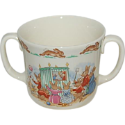 Scarce Royal Doulton (2) Two Handled Bunnykins Baby / Youth Mug