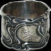 Art Nouveau Sterling Napkin Ring
