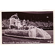 "Postcard ""Portland Oregon 1949 Rose Festival"""