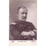 RPPC Rear Admiral Schley Postcard