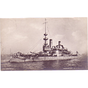 "RPPC ""USS Oregon"" Dated 1898 Postcard"