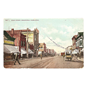 "Postcard ""Street Scene Bellingham Washington"""