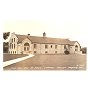 """RPPC """"Town Hall & McArdle Library Bailey's Harbor Wis."""""""