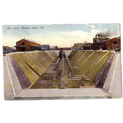 "Postcard ""Dry Dock Newport News, Va"""