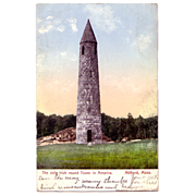 "Postcard ""The Only Irish Round Tower in America"""