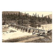 "RPPC ""Savage Rapids Dam Rogue River Oregon"""