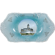 "1920's Wheelock Souvenir Dish of the "" State Capitol Olympia Wash. """