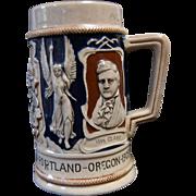 Lewis & Clark World's Fair / Centennial 1905 Souvenir Stein / Mug