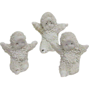 1900's ( 3 ) wee little Snow Babies