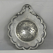Antique Sterling Silver Tiffany Strainer