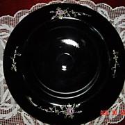 Fenton Copper Rose Console Bowl Handpainted by Martha Reynolds