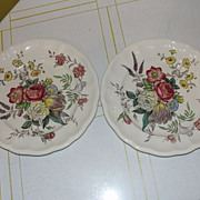 "Spode ""Gainsborough"" (Marlborough) Round Salad Plate"