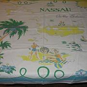 Nassau Souvenir Tablecloth - b22