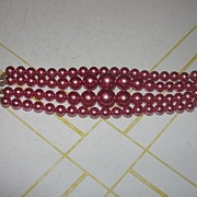 All You Need is Mauve 4-strand Bracelet - Free Shipping