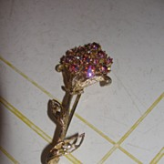 Pink Posy Pin/Brooch  - Free Shipping