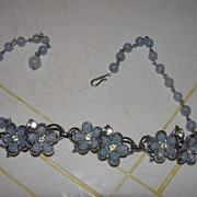 Periwinkle Blue Necklace - Free Shipping