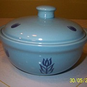 "Cronin China ""Tulip"" Covered Casserole"