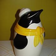 Metlox Frosty the Penguin Cookie Jar
