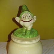 Doranne of California Leprechaun on Pot of Gold Cookie Jar