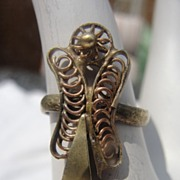 Guardian Angel Copper Ring - Free Shipping