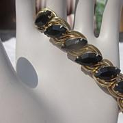 Not So Basic Black Stone Bracelet - Free Shipping