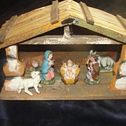 Creche Nativity Set Made in Italy