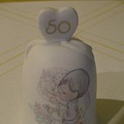 Precious Moments Happy 50th Anniversary Bell - b24