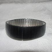 Basic Black Stretch Bracelet - Free shipping