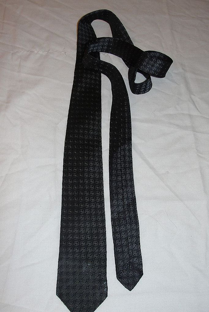 X Marks the Spot Skinny Tie - Free Shipping