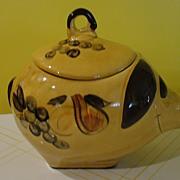 Painted Pig Cookie Jar