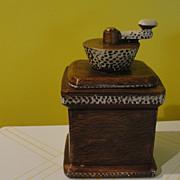 California Original Coffee grinder Cookie Jar #861
