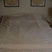 Pink Gossamer Twin Bedspread