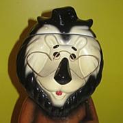 SALE Lefton Hubert the Harris Lion Cookie Jar