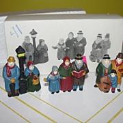 SOLD Dept 56 Heritage Village Collection ''Carolers'' set of 3 #6526-9