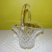 A Tisket A Clear Glass Basket - 27