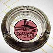 Sahara Las Vegas, Nevada Guest Room Ashtray - b38