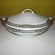 "Noritake ""Moravia"" 8'' Covered Dish - b37"