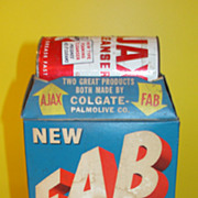 Double Box Fab Detergent with Bonus Ajax - b44