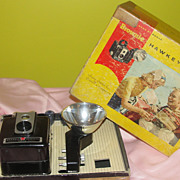 Kodak Brownie Hawkeye No 177E Camera in Box - b47