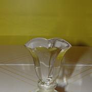 Tulip Topped Perfume Bottle - b53