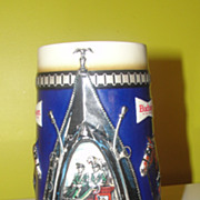 Budweiser ''Harness'' 1988 Stein CS94 - b50