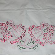 The Hearts Have It Table Runner/Dress Scarf - b50