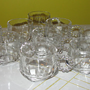 Orchard Crystal Punch Cups - b52