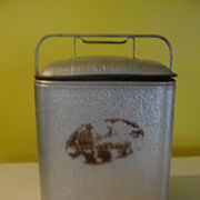Magikooler Mid-century Insulated Metal Cooler