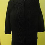 Better than Basic Black 3-piece 100% Wool Suit